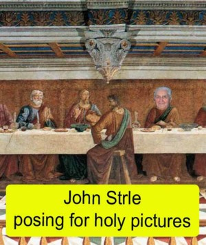 Uncle John at the last supper